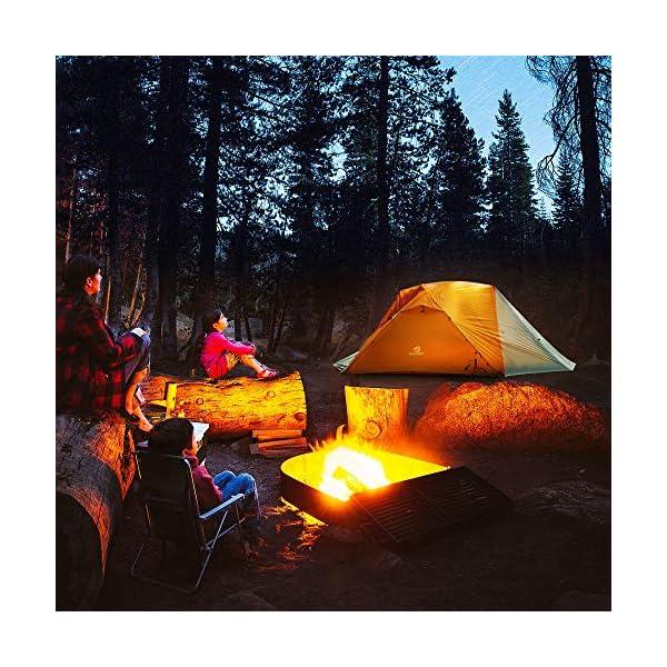 61MXzlOyYUL Bessport Camping Zelt 3 Personen Ultraleichte Zelt Wasserdicht 3-6 Saison Zwei Türen Sofortiges Aufstellen für Trekking…