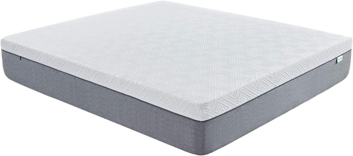 Novilla Queen Size Mattress, 12 inch Gel Memory Foam Mattress for a CoolSleep&PressureRelief, MediumFirm Feel with Motion Isolating, Bliss: Furniture & Decor
