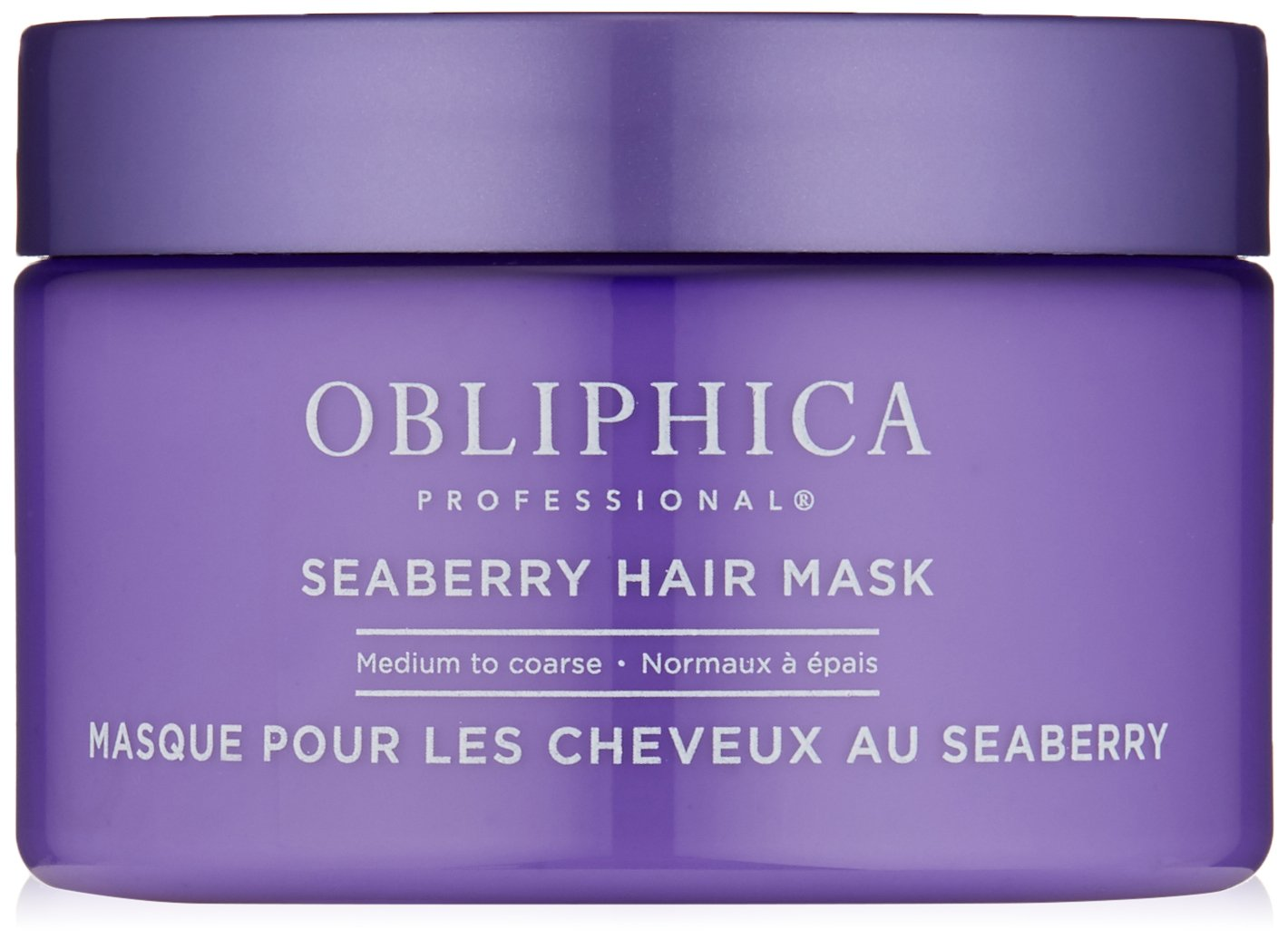 Obliphica Professional Seaberry Medium to Coarse Mask, 8.5 oz.