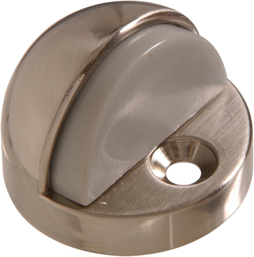 Hillman Hardware Essentials 852966 Wall Mount Door Stop Chrome 2-3//8