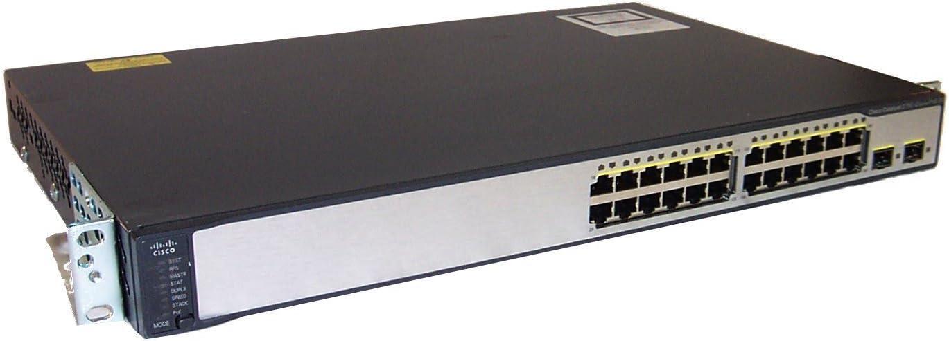 Amazon.com: Cisco 3750 V2 Series 24 Port Catalyst 10/100 Switch ...