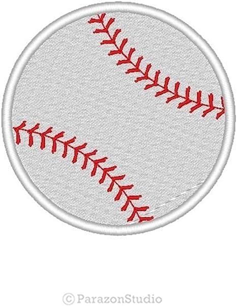 Con bordado personalizado pelota de béisbol deporte equipo parche ...