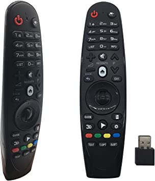 FoxRMT RM-G3900 - Mando a distancia para LG Smart TV OLED G6 E6 C6 B6 MR18 MR600 MR650: Amazon.es: Electrónica