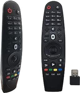 FoxRMT RM-G3900 - Mando a distancia para LG Smart TV OLED G6 E6 C6 B6 MR18 MR600 MR650: Amazon.es: Electrónica