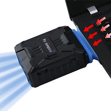 Gugutogo Mini ventilador de aire para ordenador portátil USB de vacío extractor de aire refrigeración de escape ventilador CPU refrigerador: Amazon.es: ...