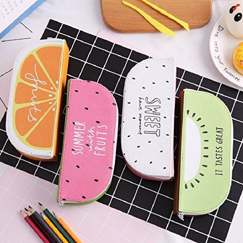 Premium Qualität Fruit Series Series Series Federmäppchen Federbeutel mit großer Kapazität stereoskopisches kreatives Briefpapier für Studenten Kiwifruit Ogquaton B07Q5F8WRW   Langfristiger Ruf  c9cf93