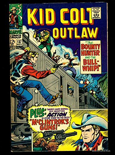 Kid Colt Outlaw #137 FN/VF 7.0 Tongie Farm Collection Pedigree