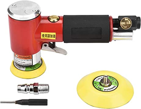 Air Die Grinder 15cm Pneumatic Die Grinder Handle Length Air Angle Die Grinder High Speed Polisher Pneumatic Cutting Tool Cut Off Polisher