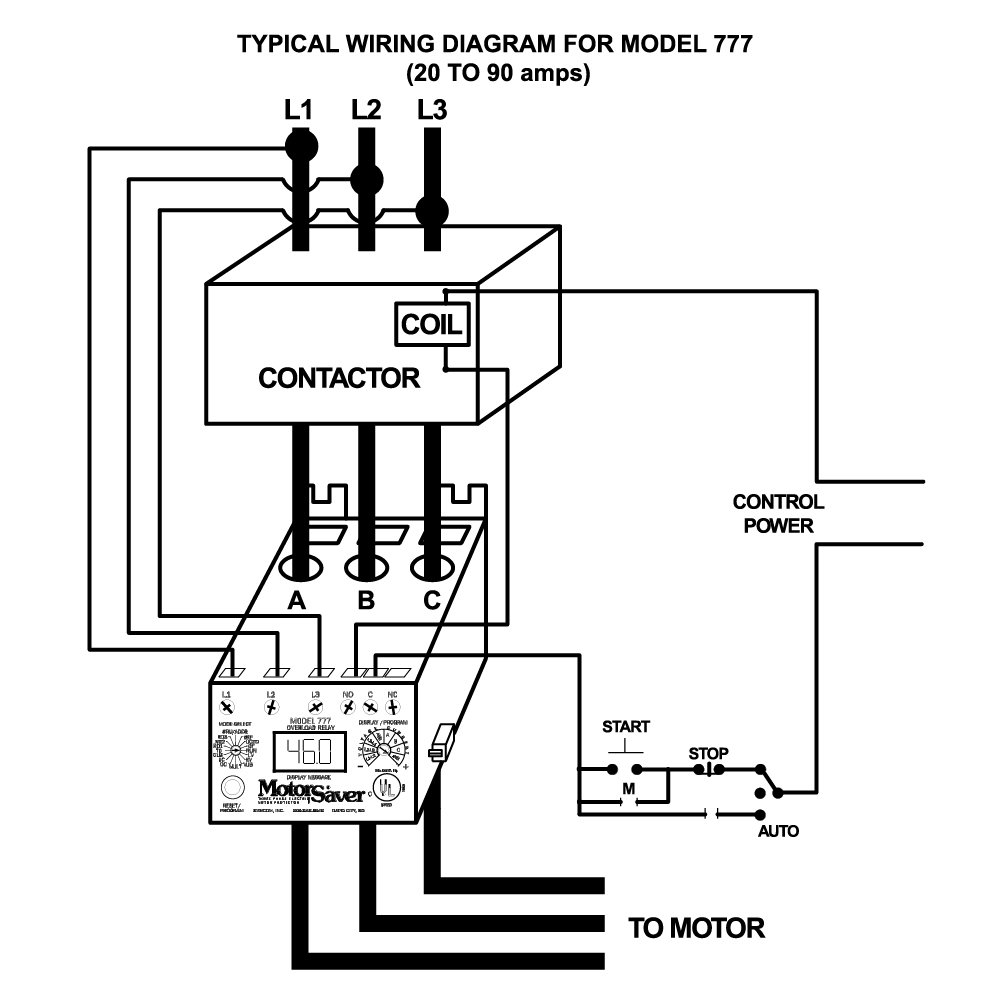61MY2nb0kZL._SL1000_ symcom motorsaver plus 3 phase power monitor overload relay, model powermonitor 1000 wiring diagram at alyssarenee.co