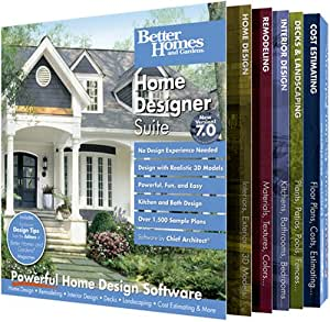 Amazon Com Better Homes And Gardens Home Designer Suite 7 0 Old Version