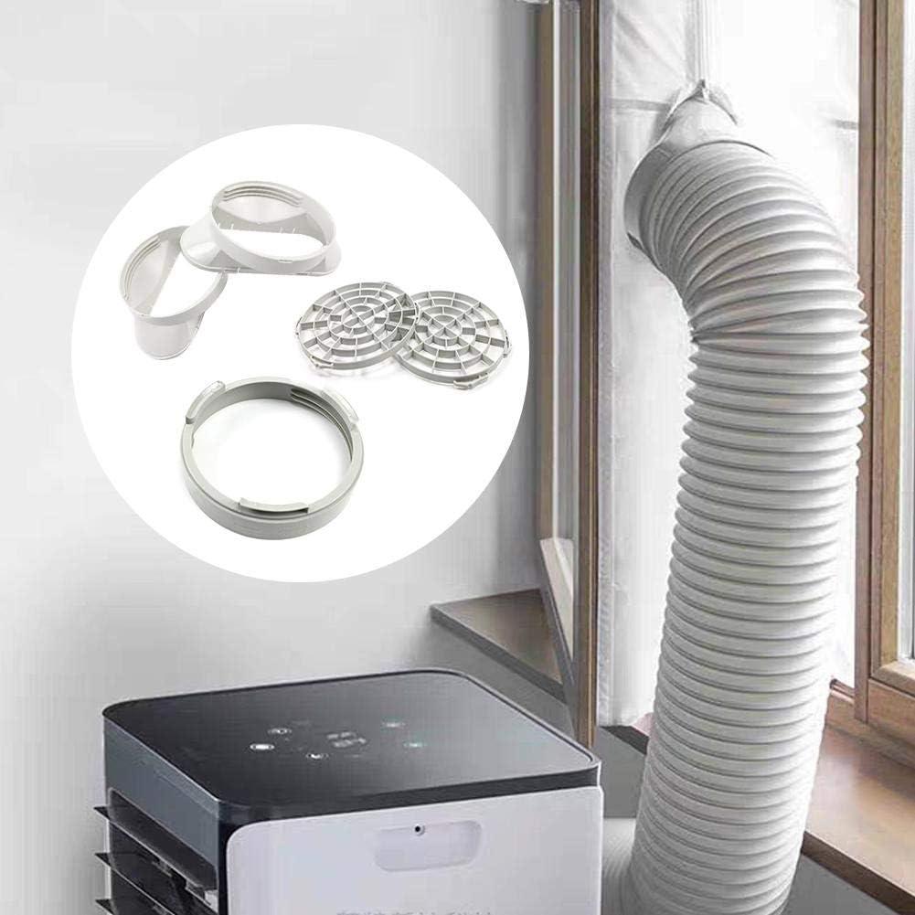 Guarnizione per Finestra Piastra Kit Finestra per condizionatore Portatile Connettore Universale per Tubo Adattatore Finestra