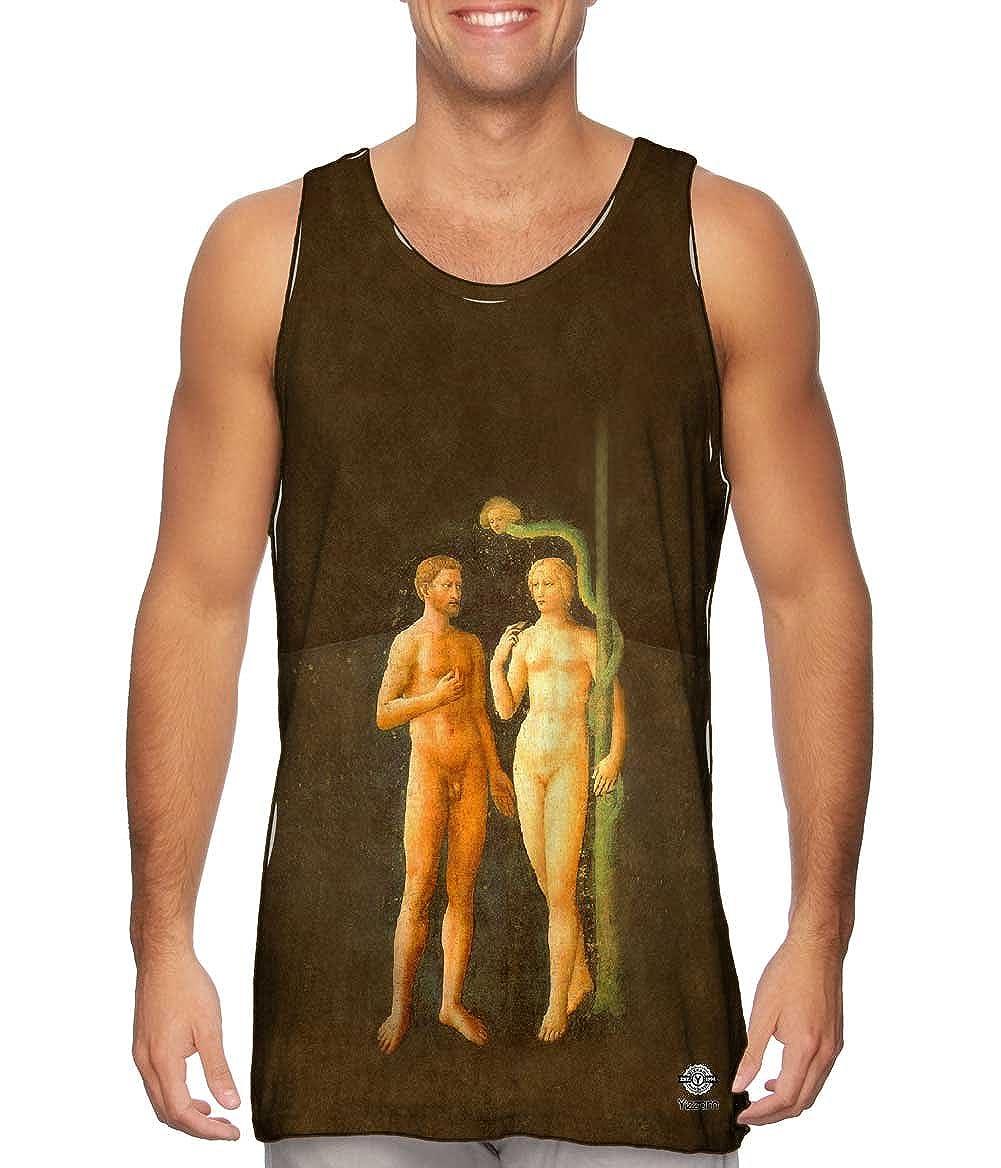 1425 Yizzam- Masolino da Panicale -Tshirt- Mens Tank Top Adam and Eve