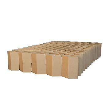 ROOM IN A BOX | Bett 2.0 M/N: Nachhaltiges Klappbett aus Wellpappe ...