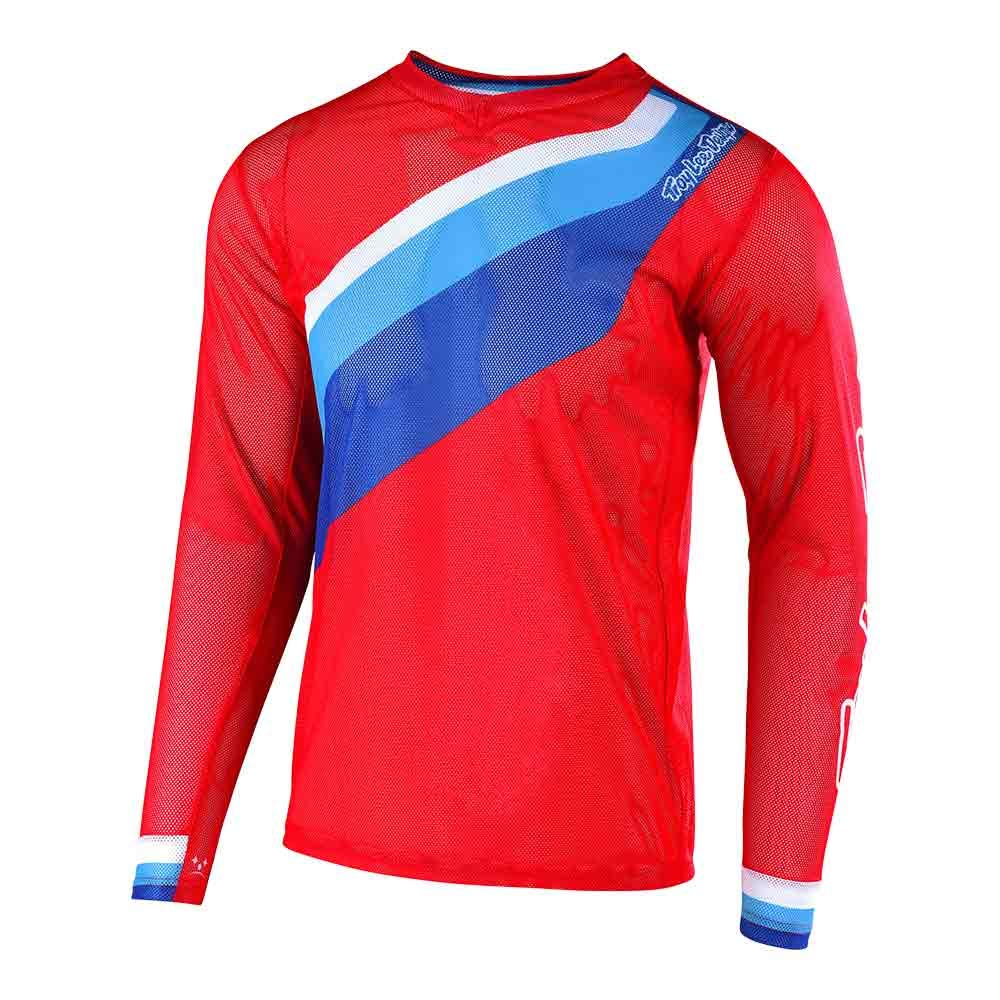 Red, Large Troy Lee Designs Off Road Motocross GP Air Jersey Prisma 2