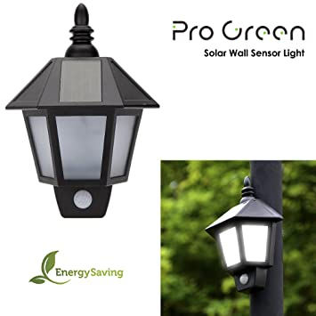 Progreen led solar wall light garden waterproof motion sensor solar progreen led solar wall light garden waterproof motion sensor solar garden light vintage solar aloadofball Image collections
