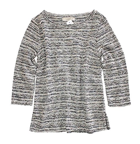 Ann Taylor Loft Womens   Reverse French Terry Boucle Sweatshirt Top  Small