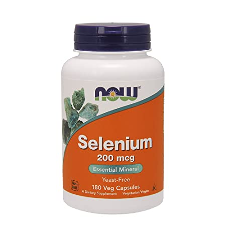 Now Foods Selenium 200 Mcg V Caps, 180 Ct by Now Foods