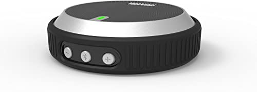 Black M-520 Ultra-Portable Wireless Bluetooth Speaker – 20 Hour Rechargeable Battery Life, Powerful Sound, Compatible with All Bluetooth Devices – GoAdvanz