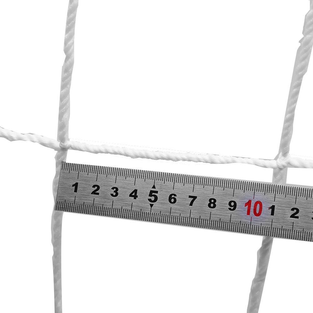 Redes de porter/ía de f/útbol de Polipropileno tama/ño Completo Red de porter/ía de f/útbol para Deportes y Entrenamiento Repuesto GLOGLOW Red de porter/ía de f/útbol