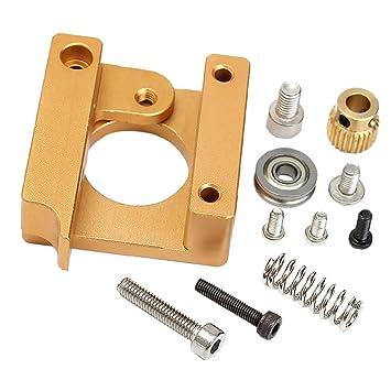 Kit DIY de Bloque Aluminio de Extrusor MK8 Impresora 3D Accesorios ...
