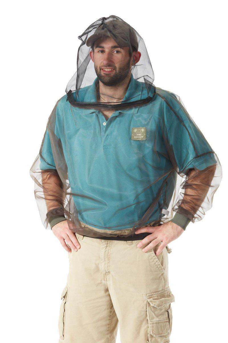 Bug Baffler Insekten Schutz Mesh Shirt