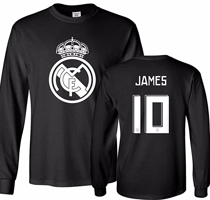 competitive price 70fa1 f01d0 Tcamp Real Madrid Shirt James Rodriguez #10 Jersey Men's ...