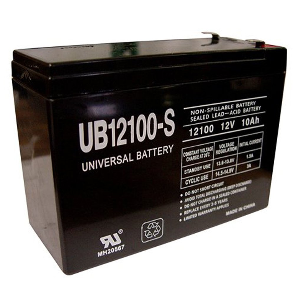 Universal Power Group 12V 10AH GT 350 Scooter Battery