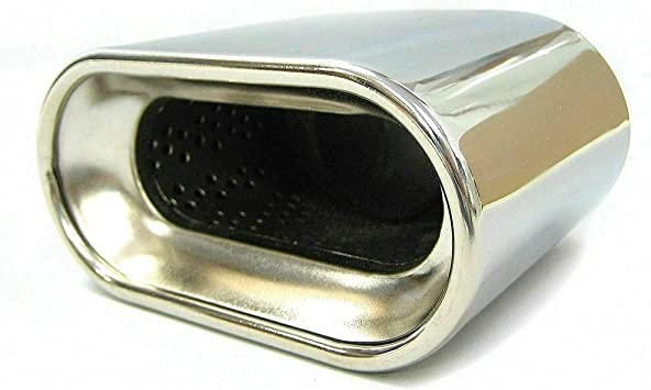 Autohobby 489 Auspuffblende Auspuff Universell Schalldampf Endrohr Blende Edelstahl Bis 57mm Chrom A B C G H J Cc 3 4 5 6 7 Auto