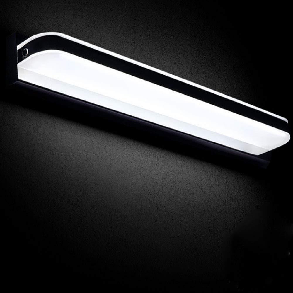 Blanco Espejo Led Hengmei Aplique Ip44 12w Lámpara Baño De Pared Frio Acrilico m0NOnv8yw