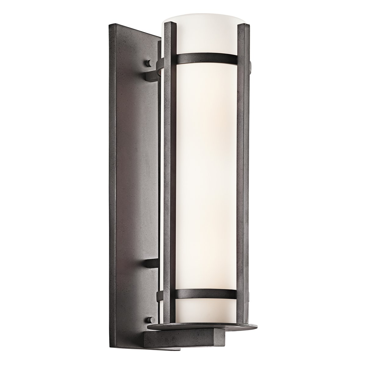 Kichler 49120AVI Two Light Outdoor Wall Mount   Wall Porch Lights    Amazon.com