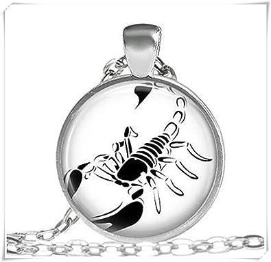 dce6eaf6560b SCORPION collar regalos para hombres Scorpio Zodiac Joyas  Amazon.es   Joyería