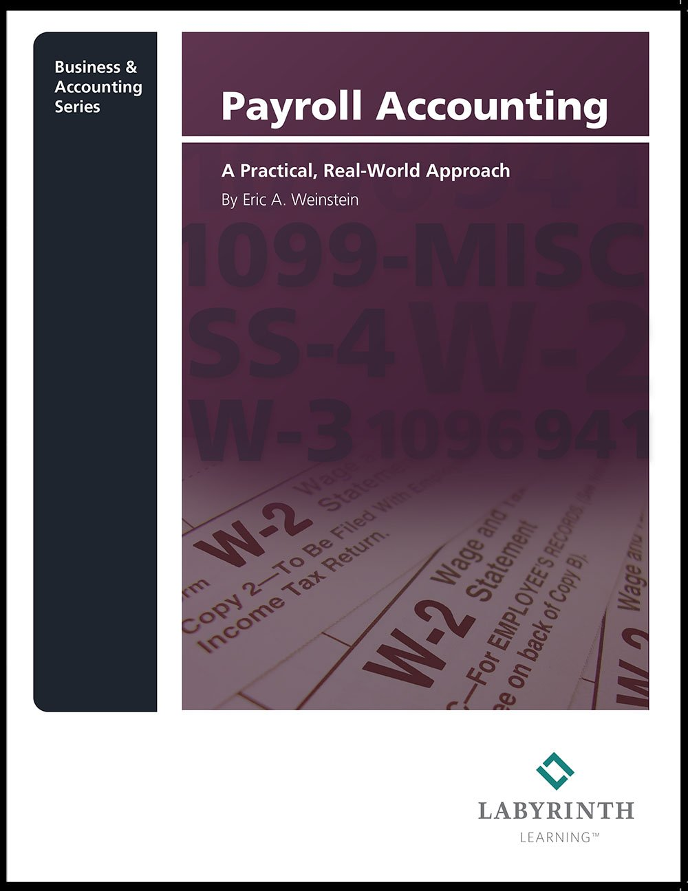 Amazon payroll accounting a practical real world approach amazon payroll accounting a practical real world approach eric a weinstein 2014 in stock july 15 health personal care fandeluxe Gallery