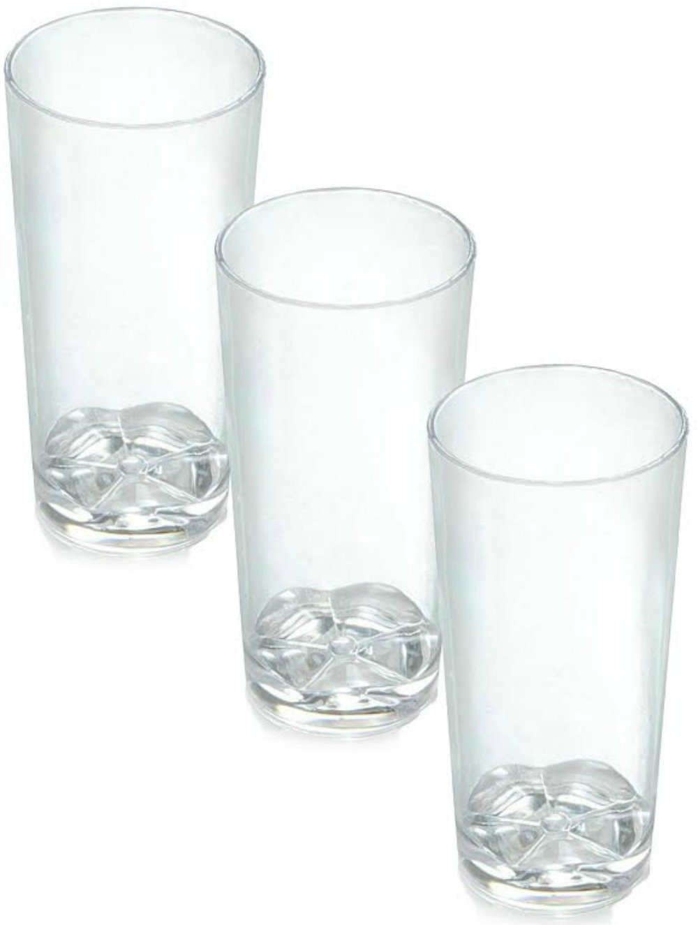 Zappy 52 Disposable Plastic Straight Wall Shooter Glasses 1.75 Oz Clear Tumblers - Tasting Sample Dessert Shooters Wine Beer Champagne Jello Cup Shot Glass Cups H&PC-59703