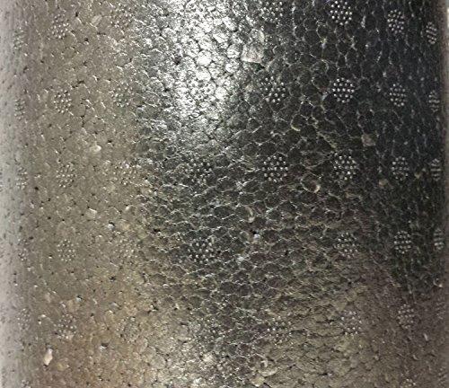 """Perform Better Elite molded Foam Roller, 3' x 6"""", Black"""