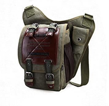 e7b0002f1999 Canvas Messenger Bag Shoulder Bag Laptop iPad Bag Macbook Pro Computer Bag  Satchel Bag Bookbag School