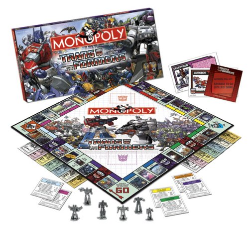(Usaopoly Transformers Collector's Edition Monopoly)