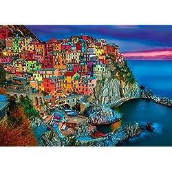 Buffalo Games - Vivid Collection - Cinque Terre - 300 Large Piece Jigsaw Puzzle
