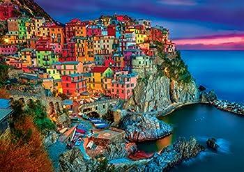 Buffalo Games - Vivid Collection - Cinque Terre - 300 Large Piece Jigsaw Puzzle 0