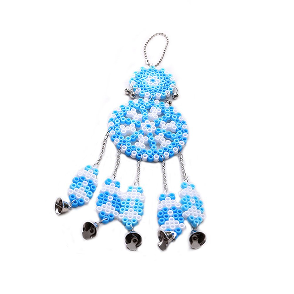Naisidier Wind Chime Series Hama Beads Fight Beans Toys Children Perler Beads Home Decoration Educational Toy Blue
