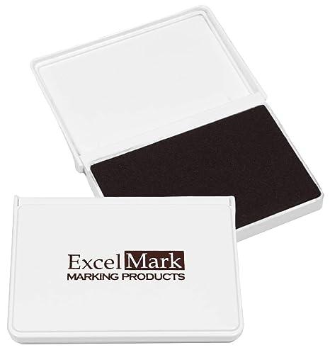 Amazon.com: ExcelMark - Almohadilla de tinta para sellos de ...