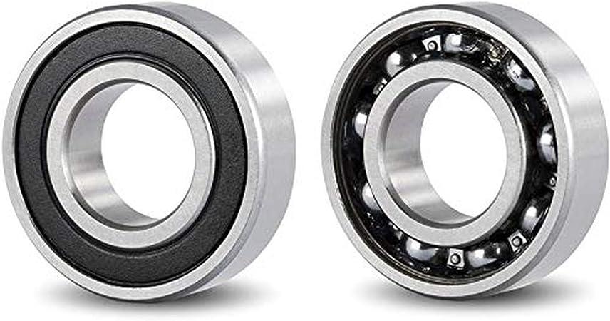 Exterior de 40mm Ancho de 12mm rodamientos Cojinetes para: fresadora Impresora 3D Pack 4 17mm DOJA Industrial Bricolaje. Rodamientos 6203 2RS C3 Cojinete de Bolas para Eje de Torno