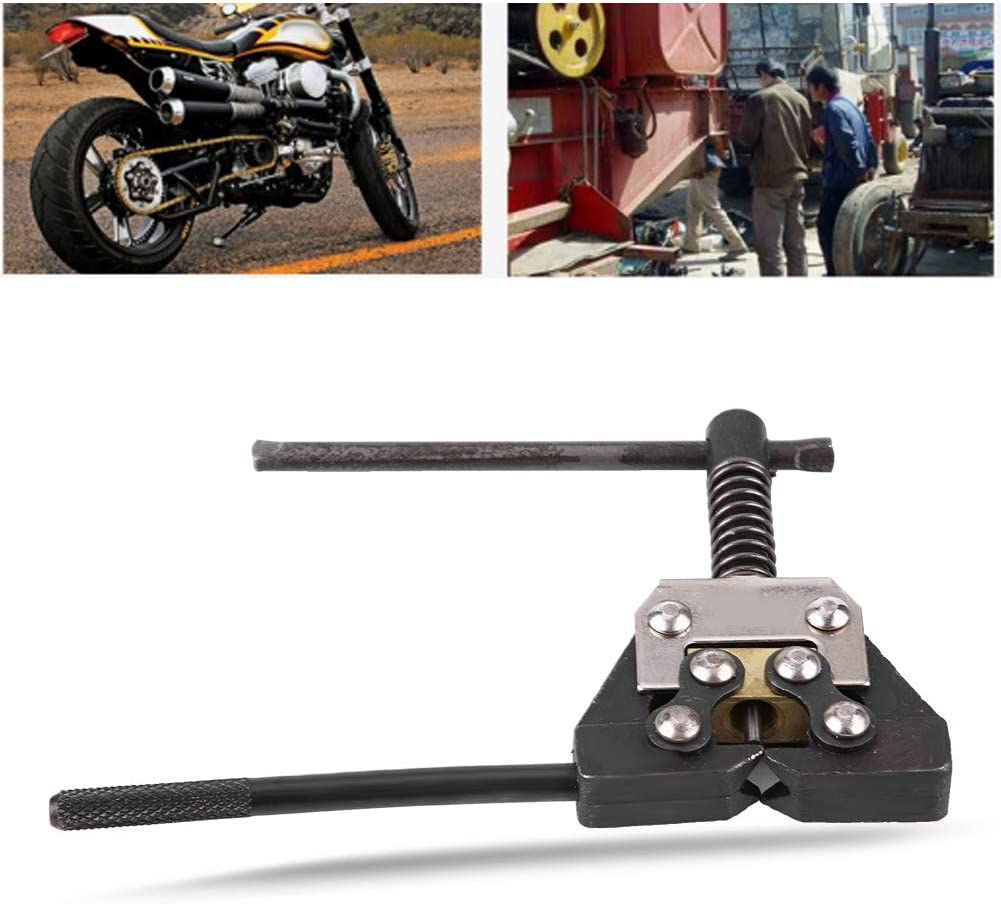 Motorrad Fahrrad ATV Kettenentfernung Schutzschalter Fahrer Separator Schneidemaschine Link Repair Tool Geeignet f/ür 420-530