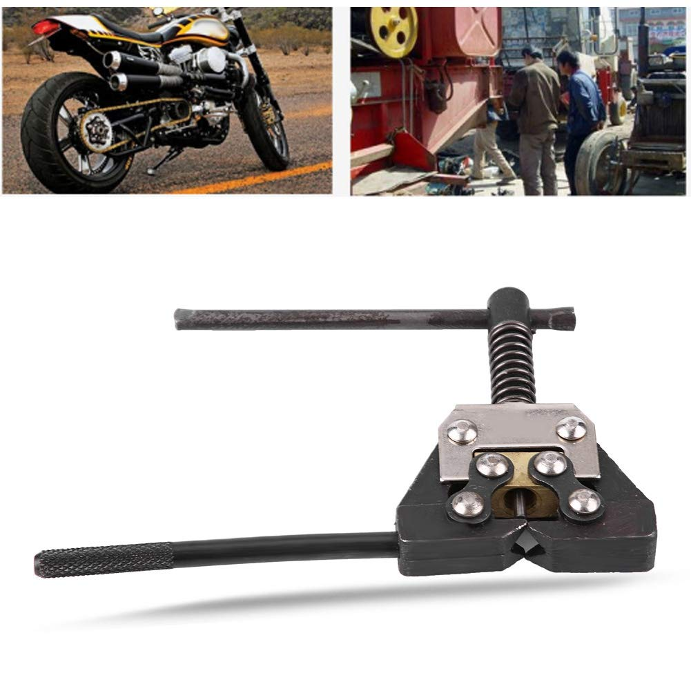 Qiilu Tronchacadenas para cadenas Herramienta de Reparaci/ón de Cadena de Motocicleta,bicicleta,ATV #420#428#520#525#528#530 de Aleaci/ón 3.8mm