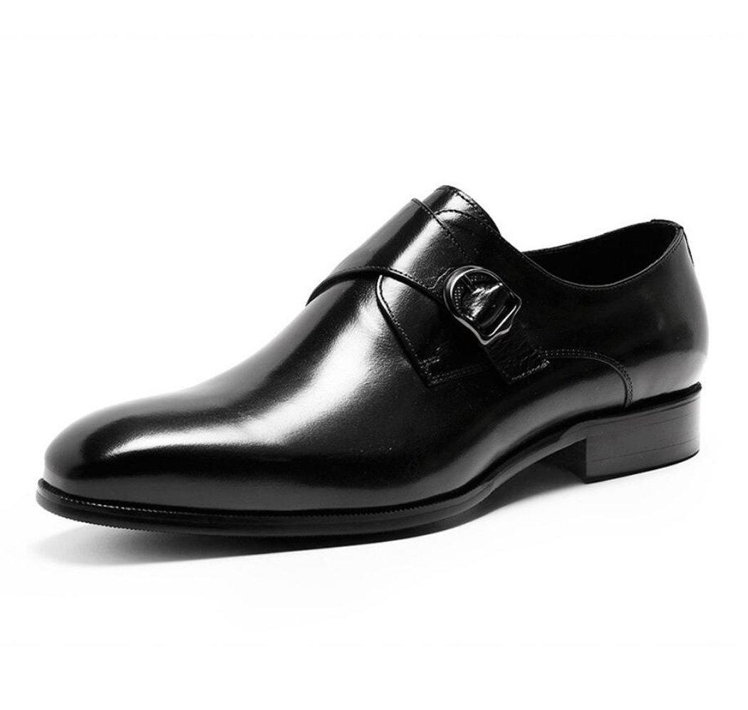 DANDANJIE Herren Lederschuhe Sommer Neue Mode Handgefertigte Lederschuhe Kleid Schuhe