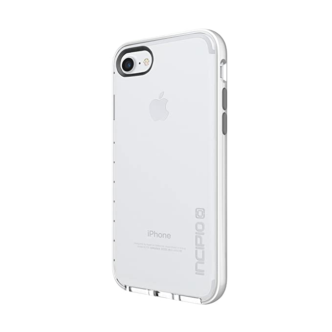 new concept 306d9 f67dc iPhone 7 Case, Incipio Reprieve [Lux] Protective Cover [Shock Absorbing]  fits Apple iPhone 7 - Clear/Iridescent White/Frost