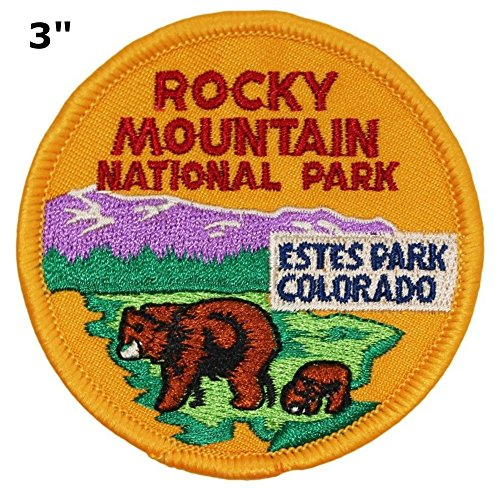 ROCKY MOUNTAIN Park Patch - 3