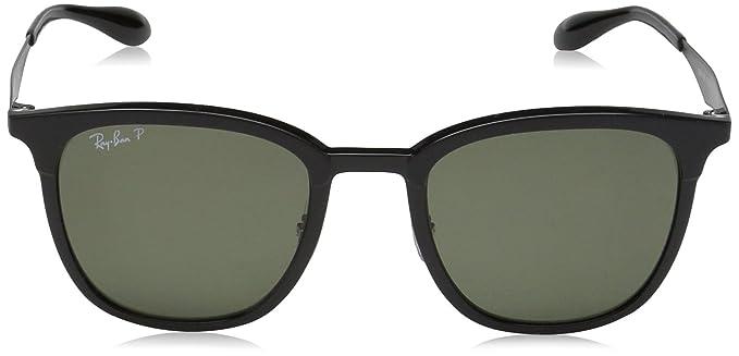 34255f33304630 Ray-Ban Rayban Unisex-Erwachsene Sonnenbrille 4278 Matte Black/Green, 51:  Amazon.de: Bekleidung