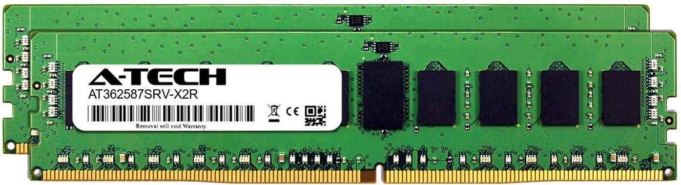 DDR4 PC4-21300 2666Mhz ECC Registered RDIMM 1rx4 Server Memory Ram A-Tech 16GB Module for Synology FS2017 AT362587SRV-X1R8
