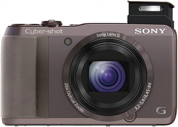 Sony Dsc Hx20vt Cyber Shot Digitalkamera 3 Zoll Braun Kamera