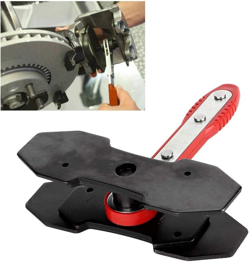 KSTE Ratcheting Brake Caliper Piston Spreader Press Tool Automotive Hand Kit